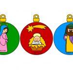 Sagoma abete per decorazioni natalizie