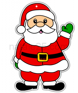 Disegni Paesaggi Di Natale.Babbo Natale Natale 25