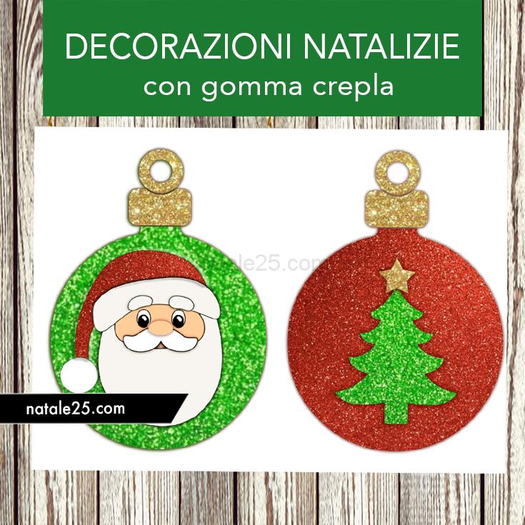 Decorazioni Natalizie Con Foto.Decorazioni Natalizie Con Gomma Crepla Natale 25