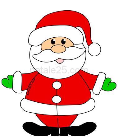 Immagini Colorate Di Babbo Natale.Babbo Natale A Colori Per Bambini Natale 25