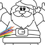 Babbo Natale con le braccia aperte