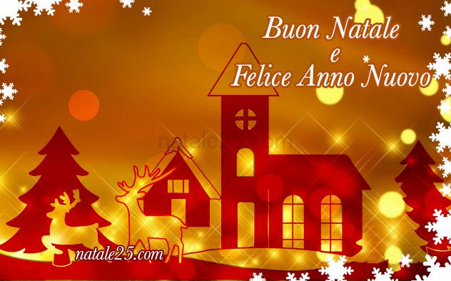 Auguri Di Buon Natale E Buon Anno.Auguri Di Buon Natale E Felice Anno Nuovo 2019 Natale 25