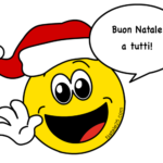 Auguri di Natale con Emoticon