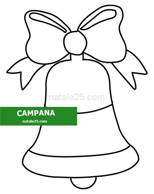 disegno campana