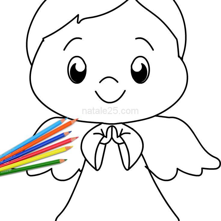 disegno angelo