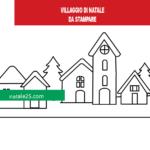 Sagoma Villaggio di Natale