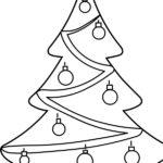 Albero natalizio con decorazioni